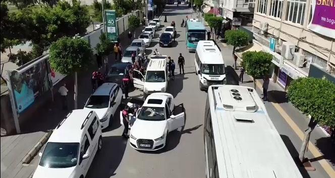 500 polisin katılımıyla asayiş uygulaması yapıldı