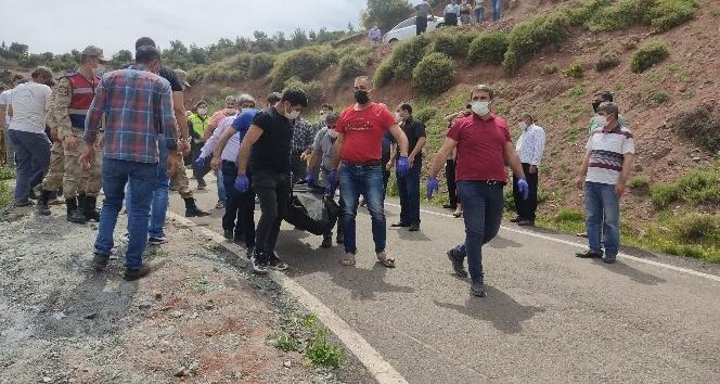 Kırıkhan'da Traktör Uçuruma Yuvarlandı:1 Ölü