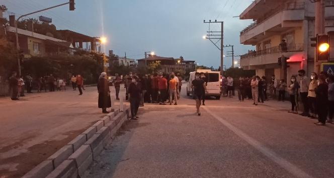 Okul yol güzergahının kapatılmasına tepki