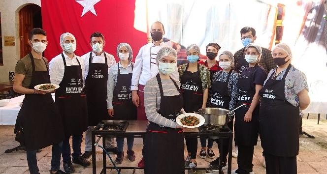 Gastronomi kenti Hatay'da geleceğin aşçıları yetiştiriliyor