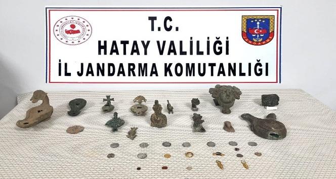 Kırıkhan'da Tarihi Eser Yakalandı