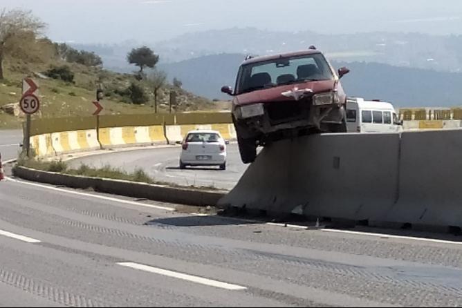 Hatay'da İlginç Kaza