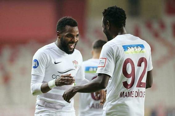 Boupendza ve Diouf Hataysporu uçuruyor