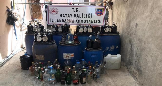 3 bin 800 litre kaçak içki yakalandı