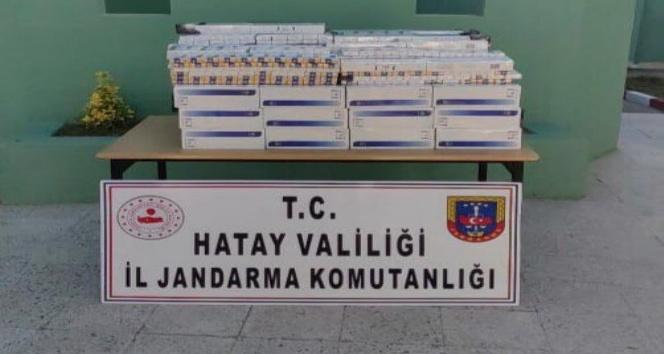 2 bin 718 paket kaçak sigara ele geçirildi