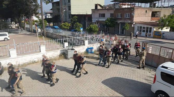 Hassa'da uyuşturucu operasyonunda 24 tutuklama
