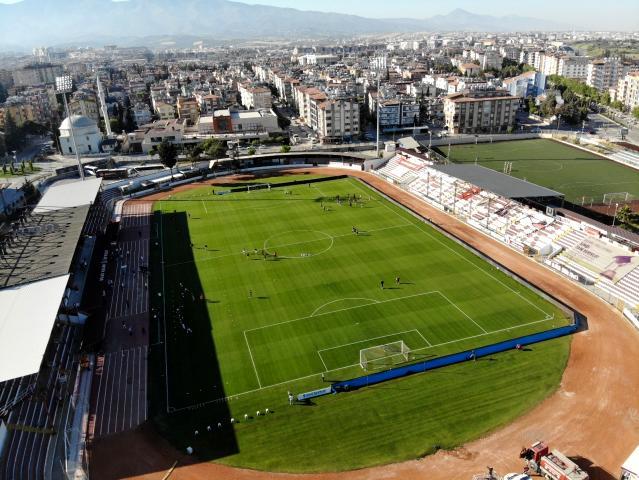 Hatayspor, Antakya Atatürk Stadı'nda son maçına çıktı