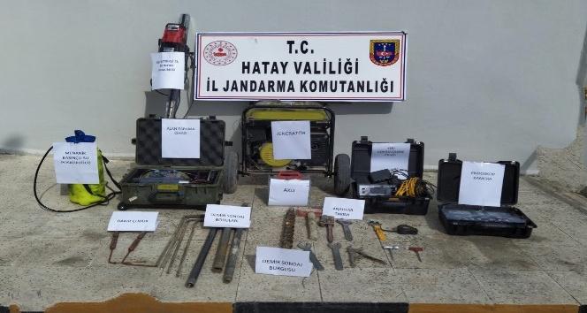 İzinsiz kazı yapan 6 kişi yakalandı