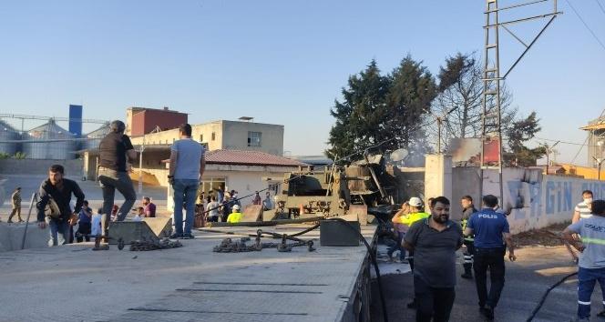 Kırıkhan'da askeri araç fabrikanın duvarı çarpıp alev aldı: 2 şehit