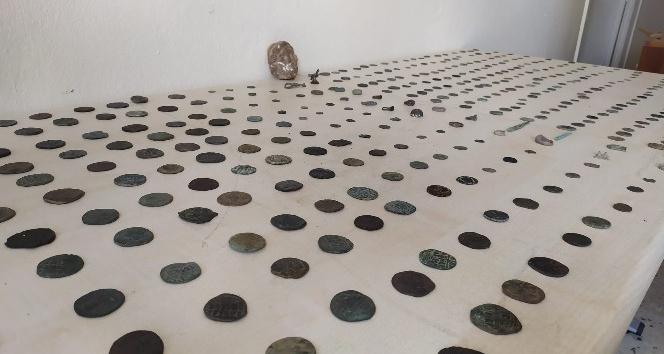 Samandağ'da tarihi eser operasyonu