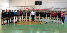 Samandağ Belediyespor Kulübü Kadın Voleybol Takımı Antrenmanlarına Başladı
