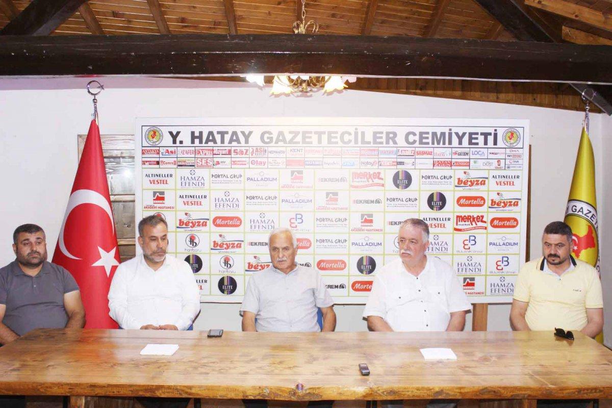 REFAH PARTİSİ'NDEN HGC'YE ZİYARET