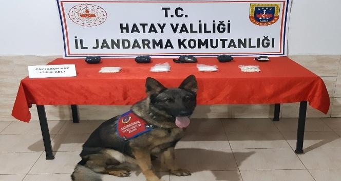 Reyhanlı'da 12 bin adet uyuşturucu hap ele geçirildi