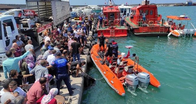 Dörtyol'da denizde kaybolan gencin cesedi bulundu