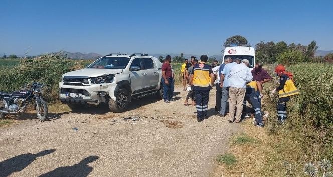 Kırıkhan'da kaza : 2 yaralı