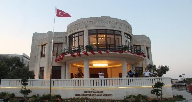Hatay Meclis Kültür Sanat Merkezi hizmete girdi