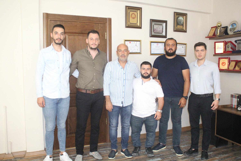 DEVA PARTİSİ'NDEN TEMİZYÜREK'E NEZAKET ZİYARET