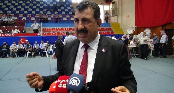 """Çelik""""Cumhurbaşkanımız Recep Tayyip Erdoğan, küçükbaşı destekliyor, önemsiyor"""""""
