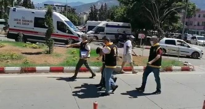 32 yıl hapis cezası bulunan şahıs, İskenderun'da yakalandı