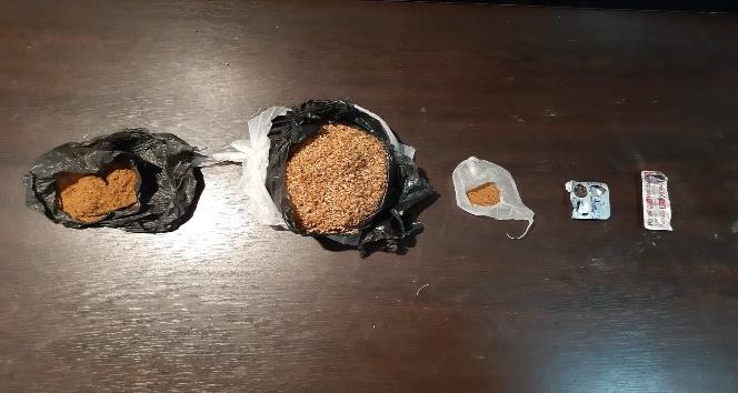 İskenderun'da 250,45 gram sentetik kannabinoid ele geçirildi