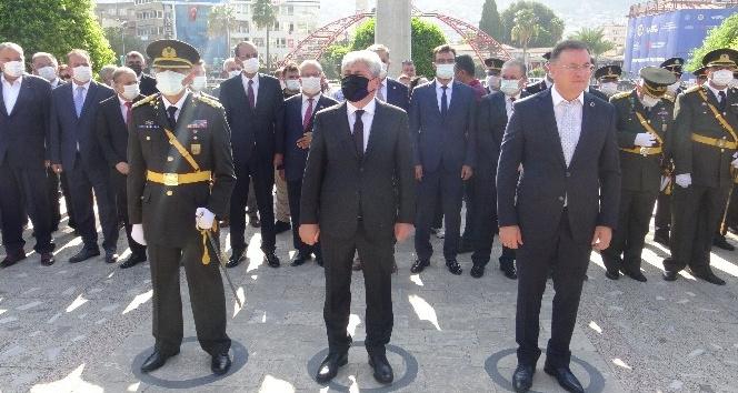Hatay'da 30 Ağustos Zafer Bayramı törenlerle kutlandı