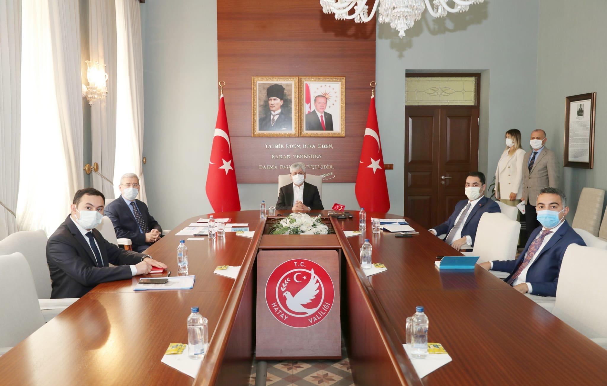 Vali Doğan Başkanlığında, Suriye Zeytindalı Harekat Bölgesi Toplantısı Gerçekleştirildi