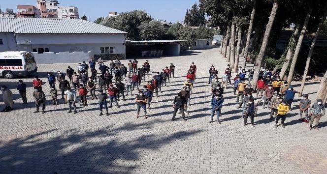 Hatay'da 187 kaçak göçmen yakalandı