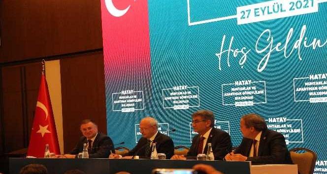 """Kılıçdaroğlu""""CHP'nin hiç kabahati yok mu? Vardır efendim kusurumuz, hatamız, yanlışımız da var"""""""