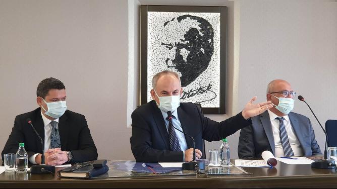 İSKENDERUN'DA 'LİMAN GÜVENLİĞİ' TOPLANTISI YAPILDI