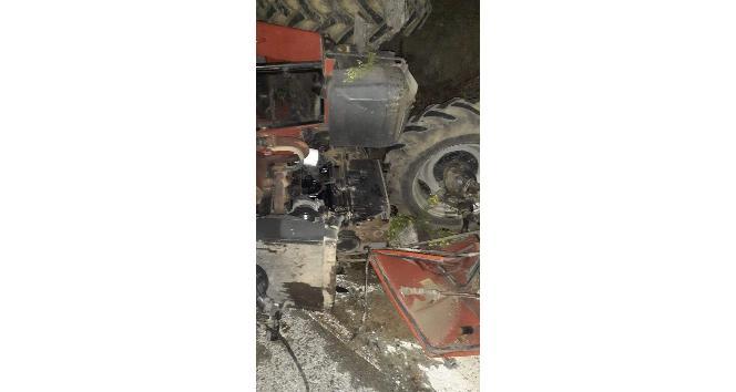 Hatay'da traktör devrildi: 3 yaralı