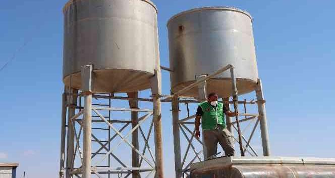 İdlib'te 22 su kuyusu açıldı