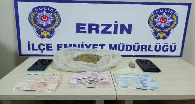 Erzin'de eroin operasyonuna 1 tutuklama