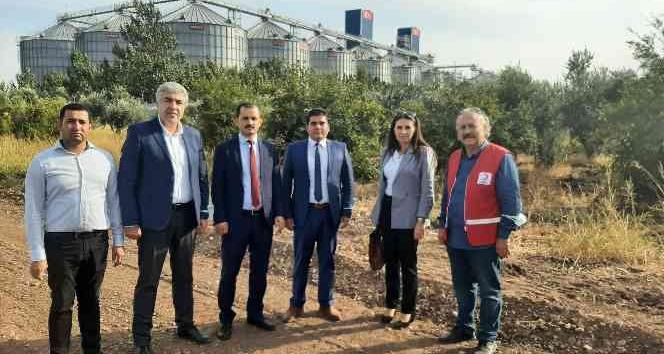 Kırıkhan Denetimli Serbestlik Müdürlüğünden Türk Kızılayına zeytin