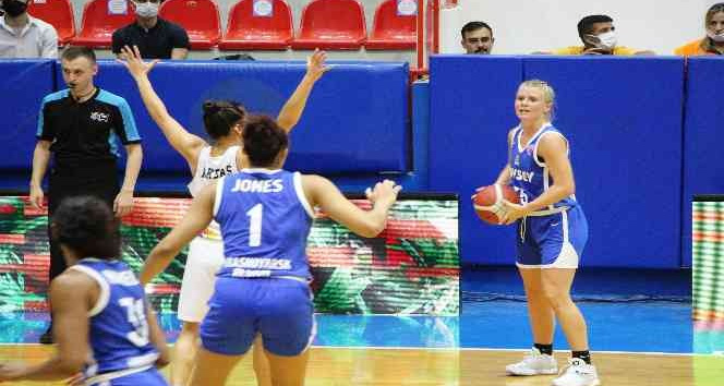 FIBA Kadınlar Avrupa Kupası: Hatayspor: 100 – Enisey Krasnoyar: 76