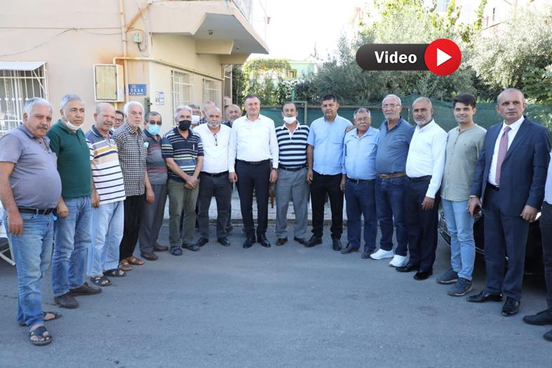 """SAVAŞ """"HALKIMIZA HİZMET YOLUNDA YILMADAN ÇALIŞACAĞIZ"""""""